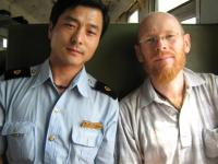 stewgreen on the train in China