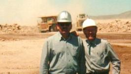 Stewart Green at the Mine in Chile