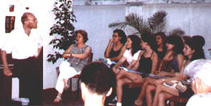 me teaching in Brazil